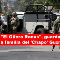 Era el responsable de la seguridad de la familia del líder del Cártel de Sinaloa