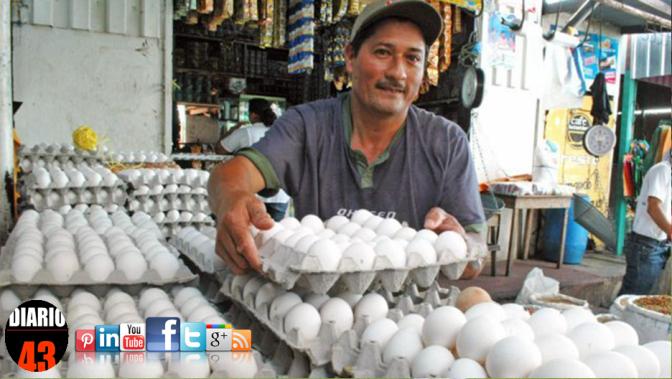 En febrero, precio del huevo registra nueva alza
