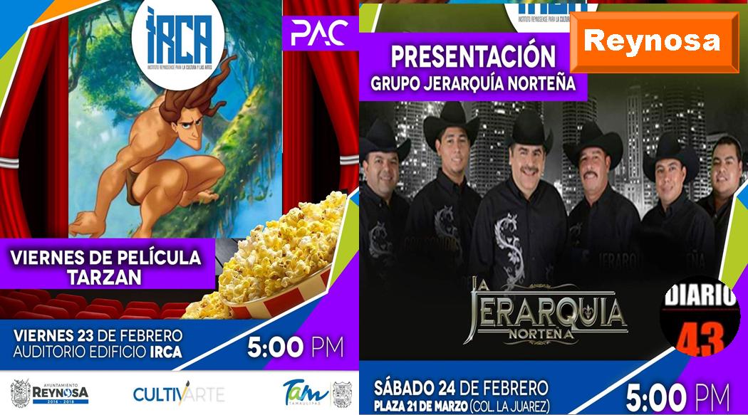 Gobierno de Reynosa promueve arte y cultura para toda la familia