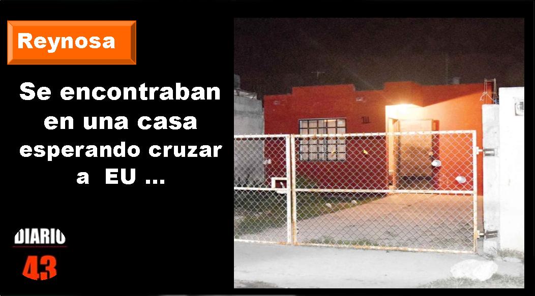 Rescata PFP a 26 indocumentados en Reynosa