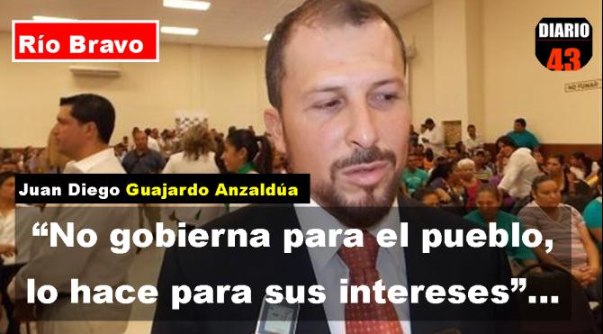 Preocupa a Empresarios de Río Bravo, Política de confrontación del Alcalde Juan Diego Guajardo
