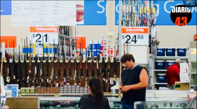 Walmart restringe en EU venta de armas a menores de 21 años
