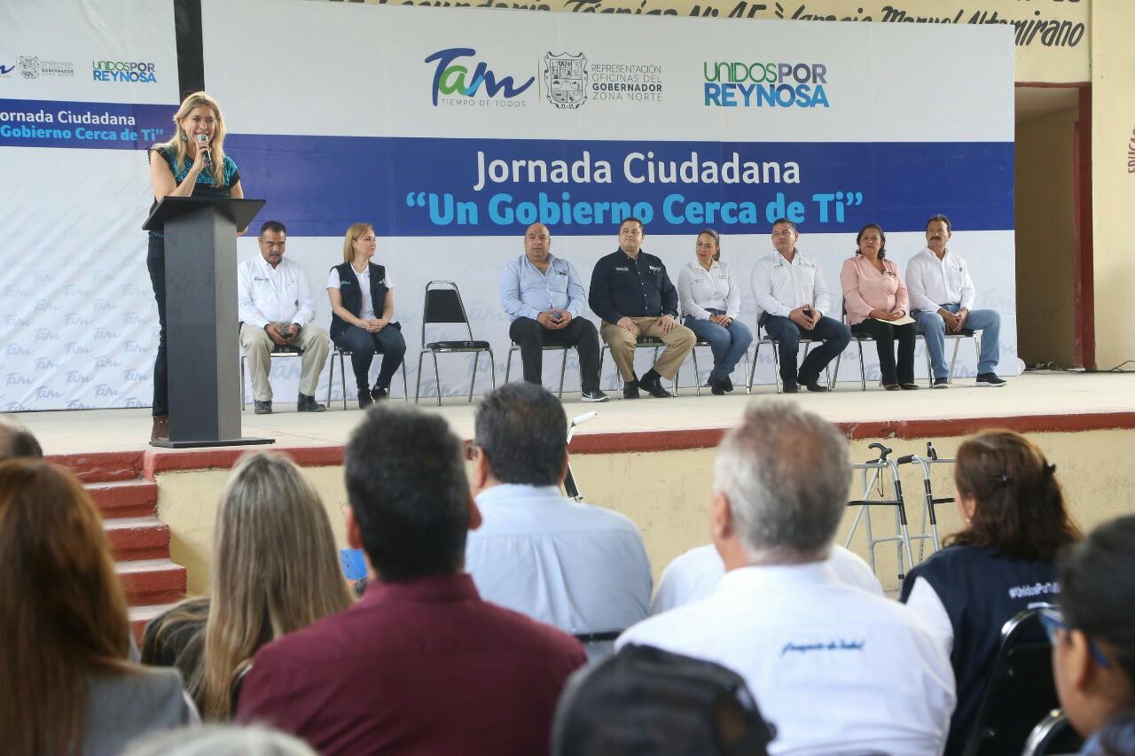 Alcaldesa participa en Jornada Ciudadana