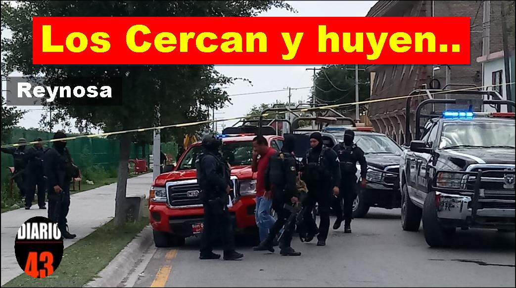 Aseguran Camioneta en Persecución en Reynosa