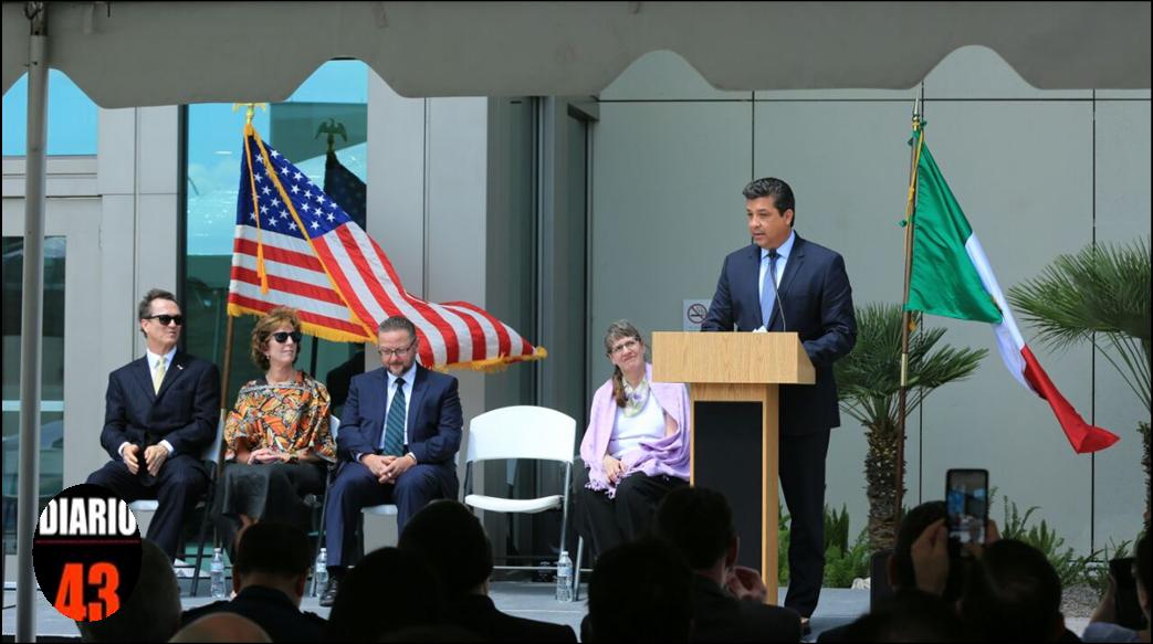 Destaca Gobernador relación histórica de amistad, negocios y colaboración entre Estados Unidos y México