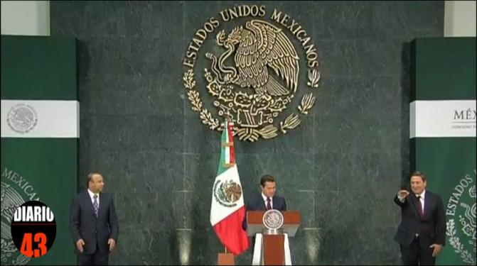 El Presidente EPN designó a Baltazar Hinojosa como nuevo titular de la SAGARPA