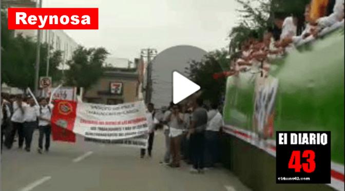Trabajadores pasan a segundo plano con actos proselitistas en Reynosa…