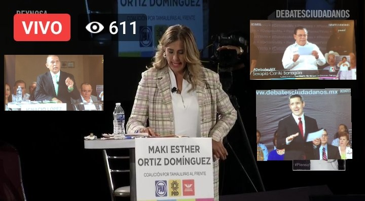 En Debate; Candidatos reconocen trabajo de Maki en Reynosa…