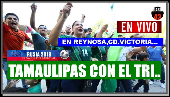 Apoya al Tri desde el Fan Park Tamaulipas