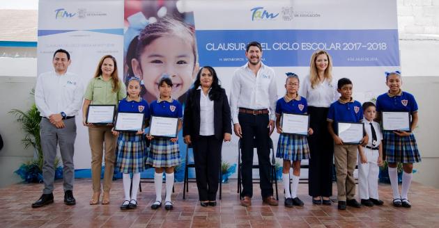 Clausura Secretario de Educación Ciclo Escolar 2017-2018