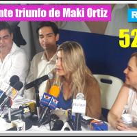 Gana la reelección Maki Ortiz, por 114,339 votos en Reynosa