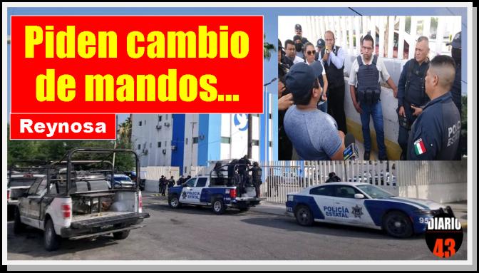 PEA pide destitución del coordinador de la corporación en Reynosa