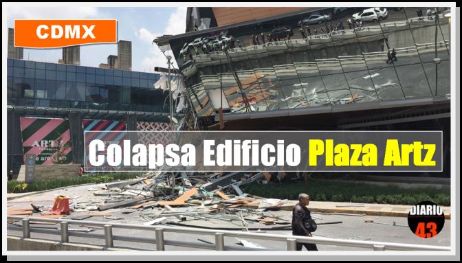 Colapsa centro comercial en Periférico Sur de la Ciudad de México…