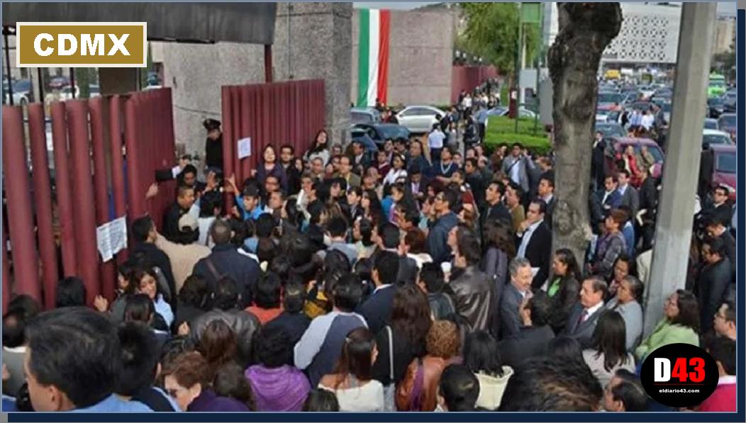Inicia la semana con seis movilizaciones en la Ciudad de México