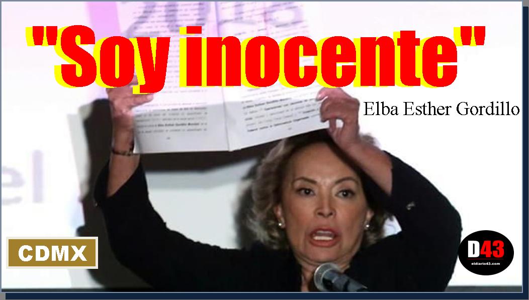 """""""Recuperé mi libertad y la reforma educativa se ha derrumbado""""; """"Soy inocente"""": Elba Esther Gordillo"""