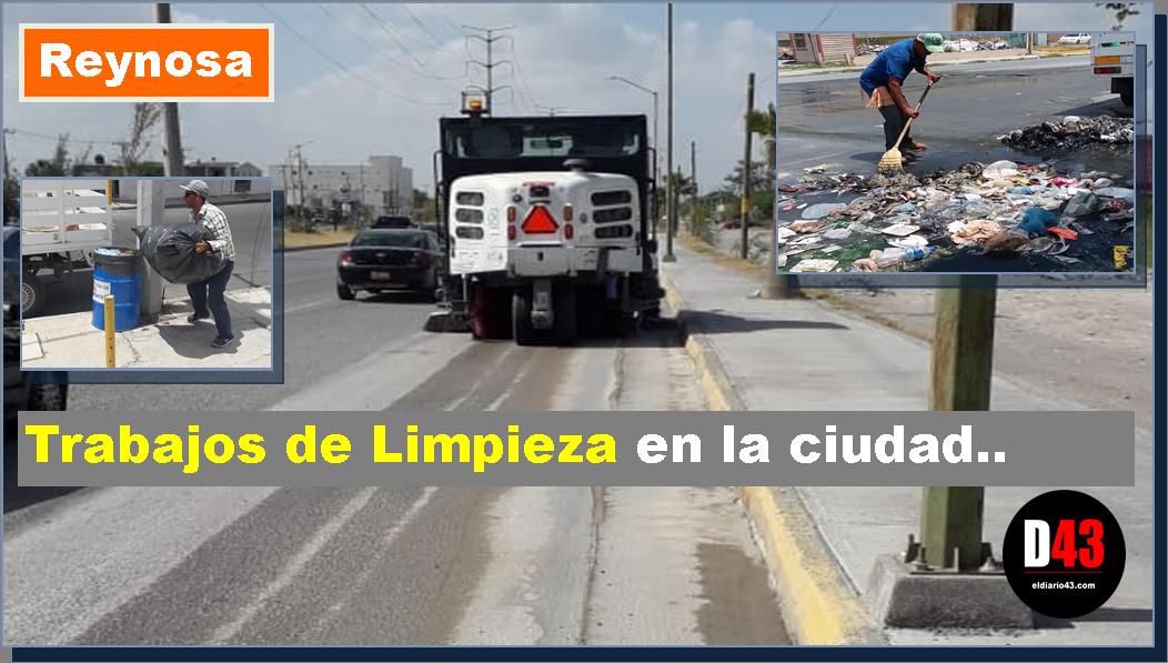 Mantengamos a Reynosa más limpia y más hermosa..