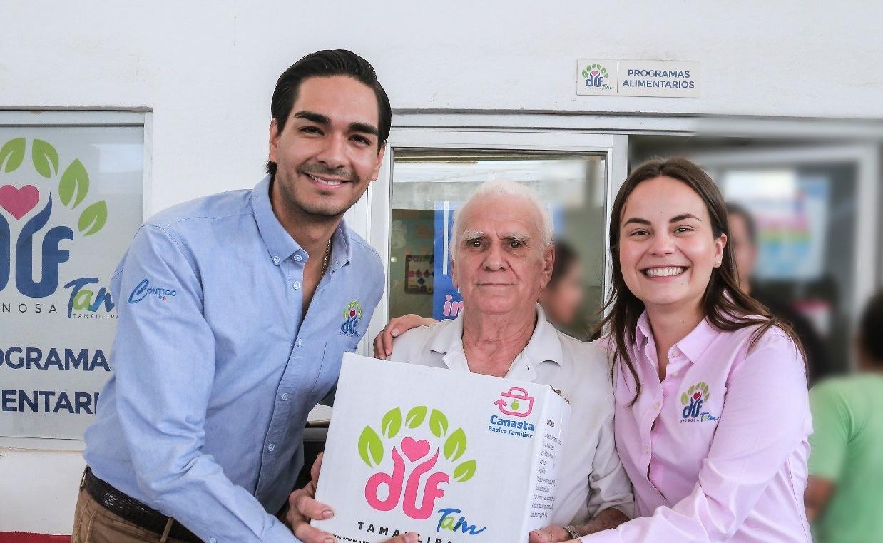 ENTREGA DIF REYNOSA NUTRIENDO TAMAULIPAS..