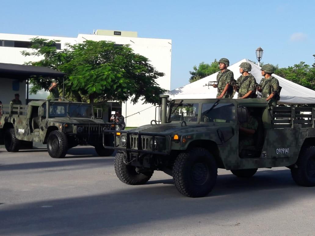 🇲🇽 Ángel soldado honorario del Ejército mexicano en Reynosa..
