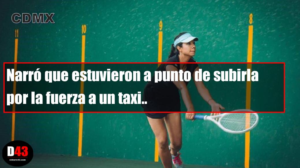 Intentan secuestrar a campeona de frontenis en la Ciudad de México