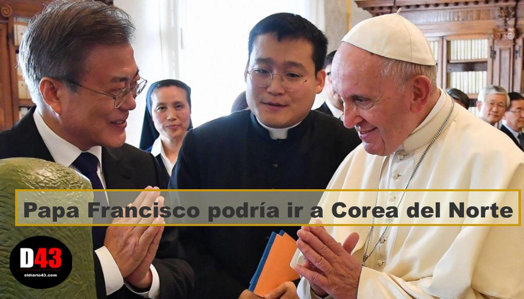 Papa Francisco podría aceptar invitación a Corea del Norte