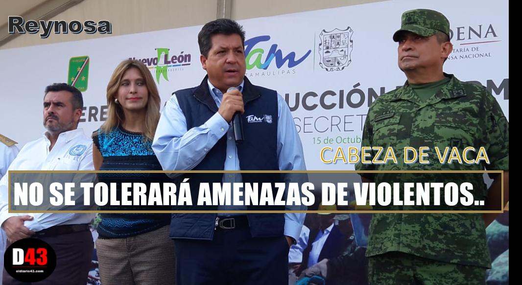 Tras el supuesto paro de labores de transportistas y taxis en Reynosa..
