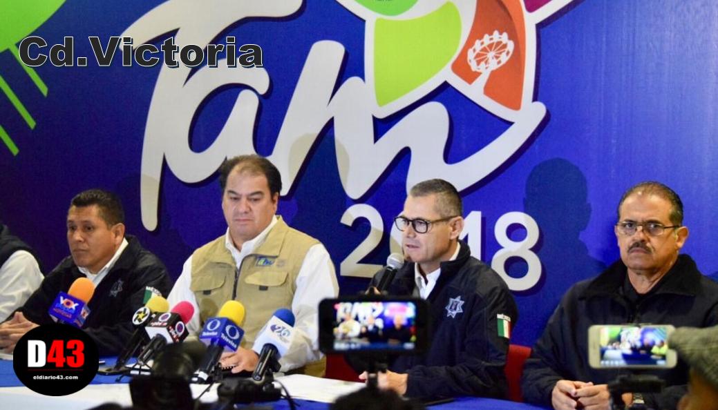 Aplican vigilancia en Feria Tam 2018
