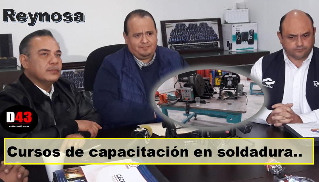 Conalep abre oportunidad a trabajadores industriales en Reynosa