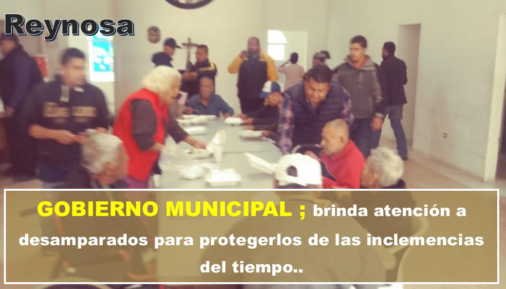 Continúa PCyB recorridos para proteger indigentes en Reynosa