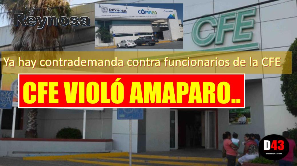 """CFE violó amparo interpuesto por la paramunicipal"""": Srio. Del Ayuntamiento."""