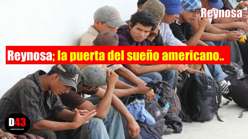 Arriban mas centroamericanos a Reynosa  piden asilo político en EU..