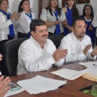 Nombramientos en la primera Sesión de Cabildo de Río Bravo