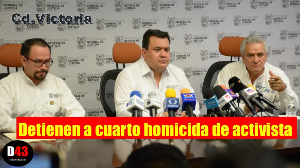 Detienen a cuarto implicado en asesinato de activista Miriam Elizabeth Rodríguez