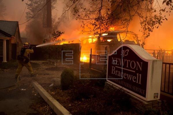 El incendio en el norte de California ya es el más destructivo en la historia del estado