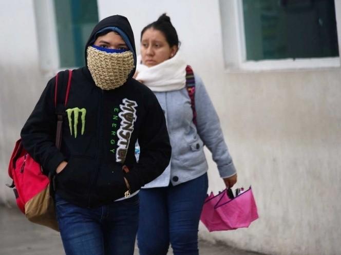 Continuarán bajas temperaturas en el país debido al frente frío 11