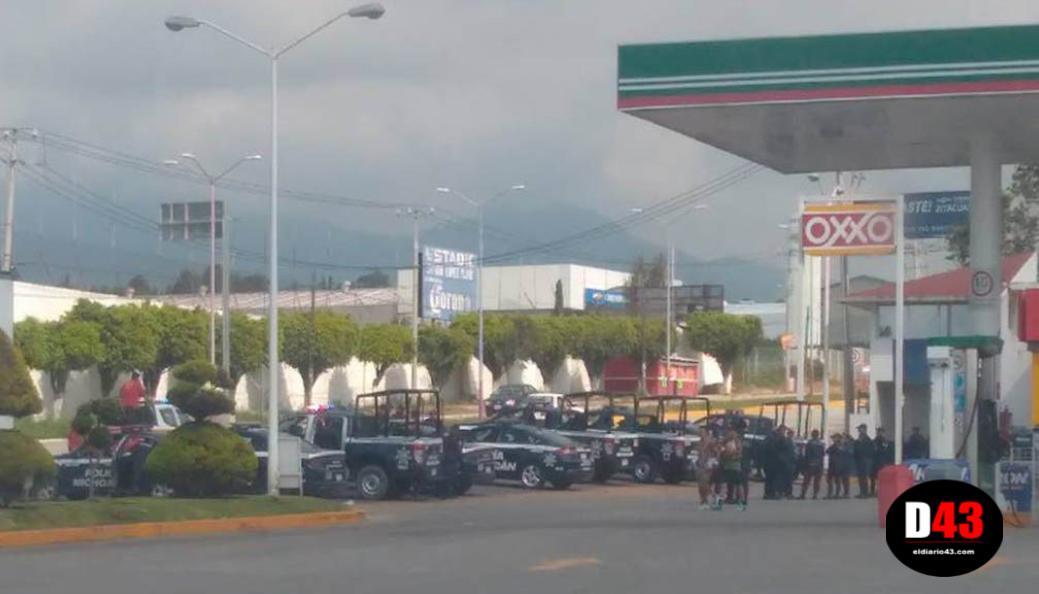 Hombres armados atacan a balazos a policías estatales en Guerrero