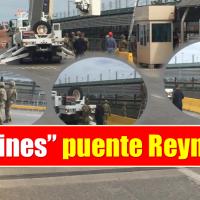 Blindan puente internacional Reynosa-Hidalgo..