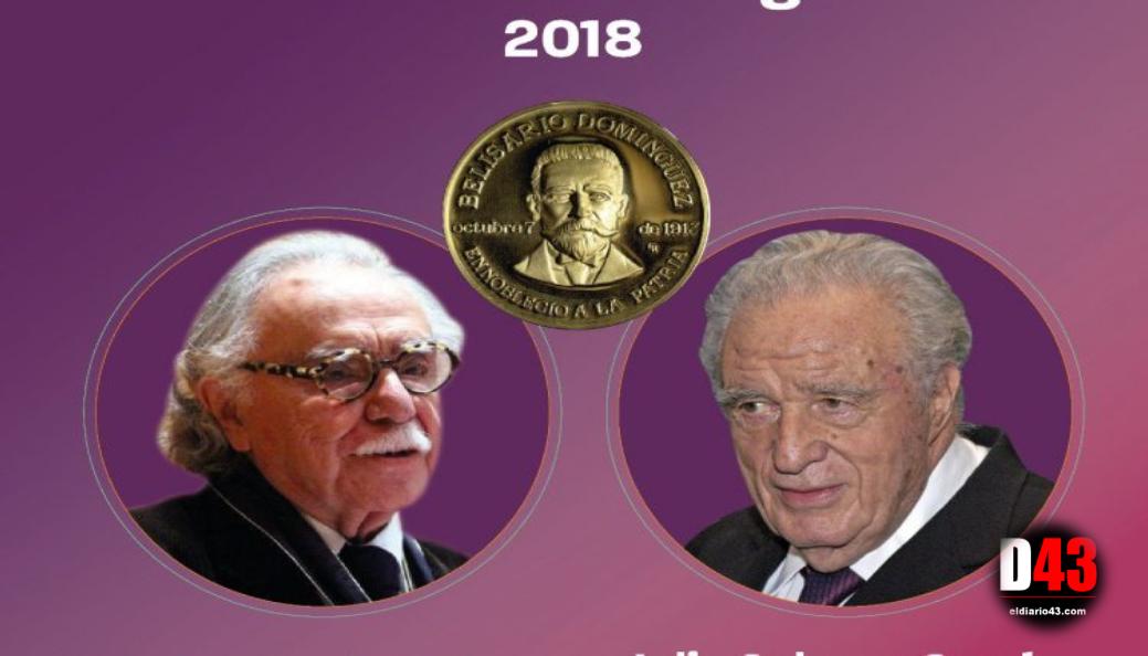 Medalla Belisario Domínguez para los periodistas Julio Scherer (post-mortem) y Carlos Payán