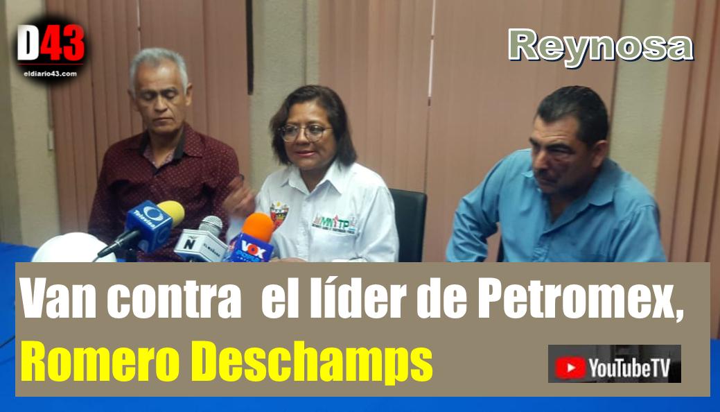 Aspirante a liderar el sindicato petrolero denuncia a Romero Deschamps