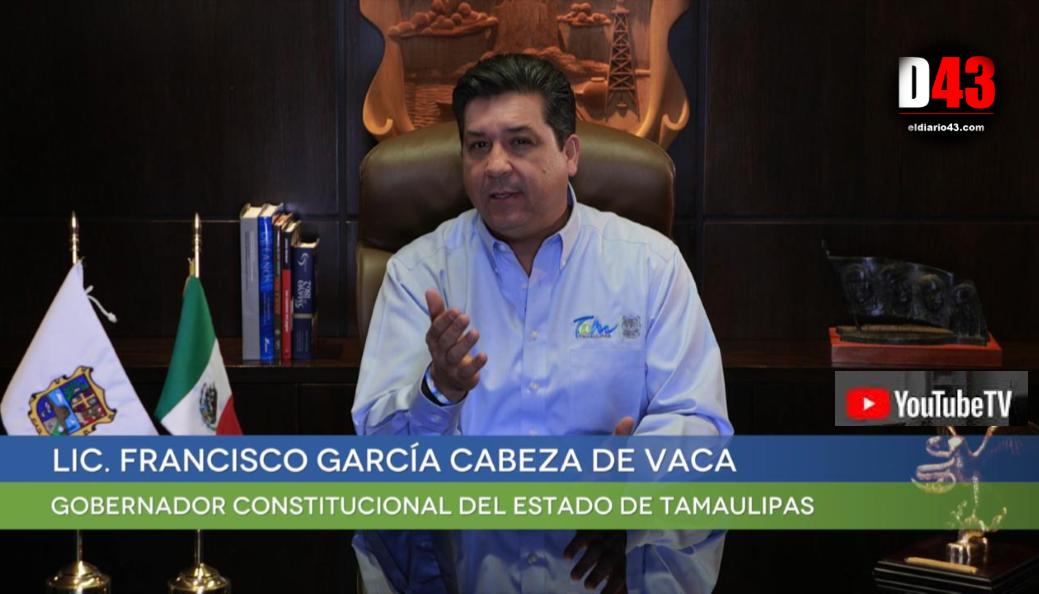 DISPONE GOBERNADOR DE TAMAULIPAS ELIMINACIÓN DE LA TENENCIA VEHICULAR