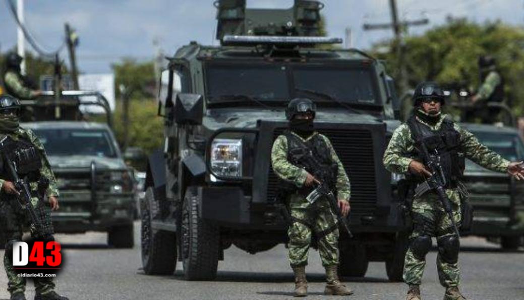 Despliega gobierno federal a 50 mil policías militares en todo el país