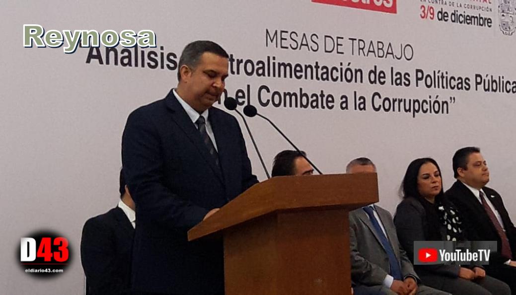 Realizan Semana Estatal Anticorrupción en Reynosa