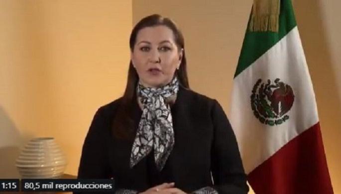 'Hoy triunfó la democracia': Martha Érika celebra resolución del Tribunal Electoral en Puebla