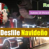Realizan Gran desfile navideño en Reynosa