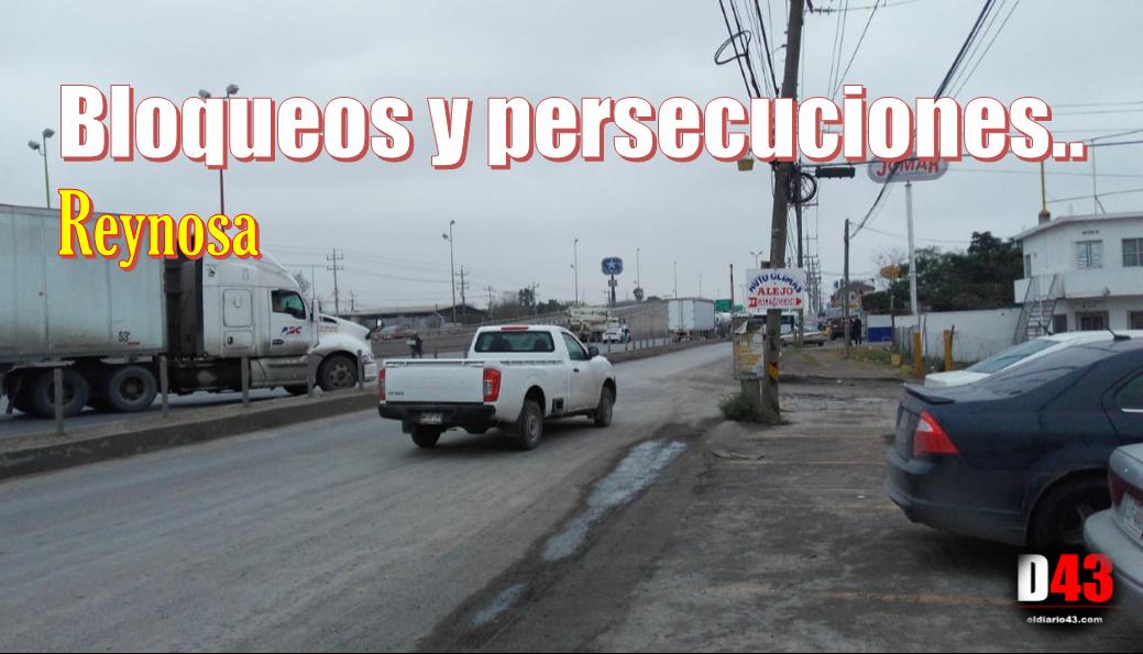 Vive Reynosa tarde de bloqueos…