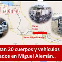 Encuentran al menos 20 cuerpos calcinados en Frontera chica...