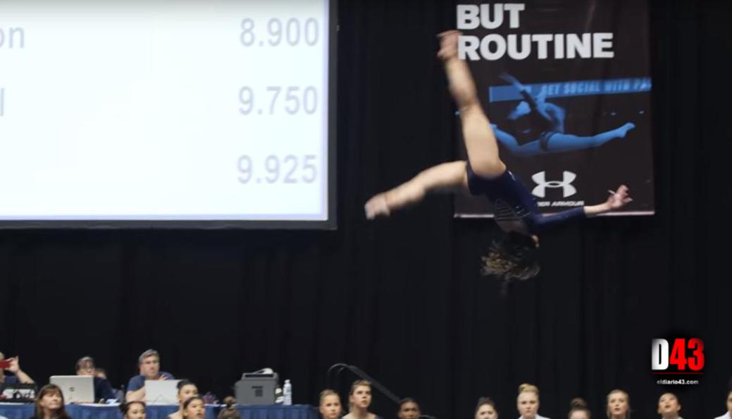 La gimnasta Katelyn Ohashi logra un '10' que fascina al mundo