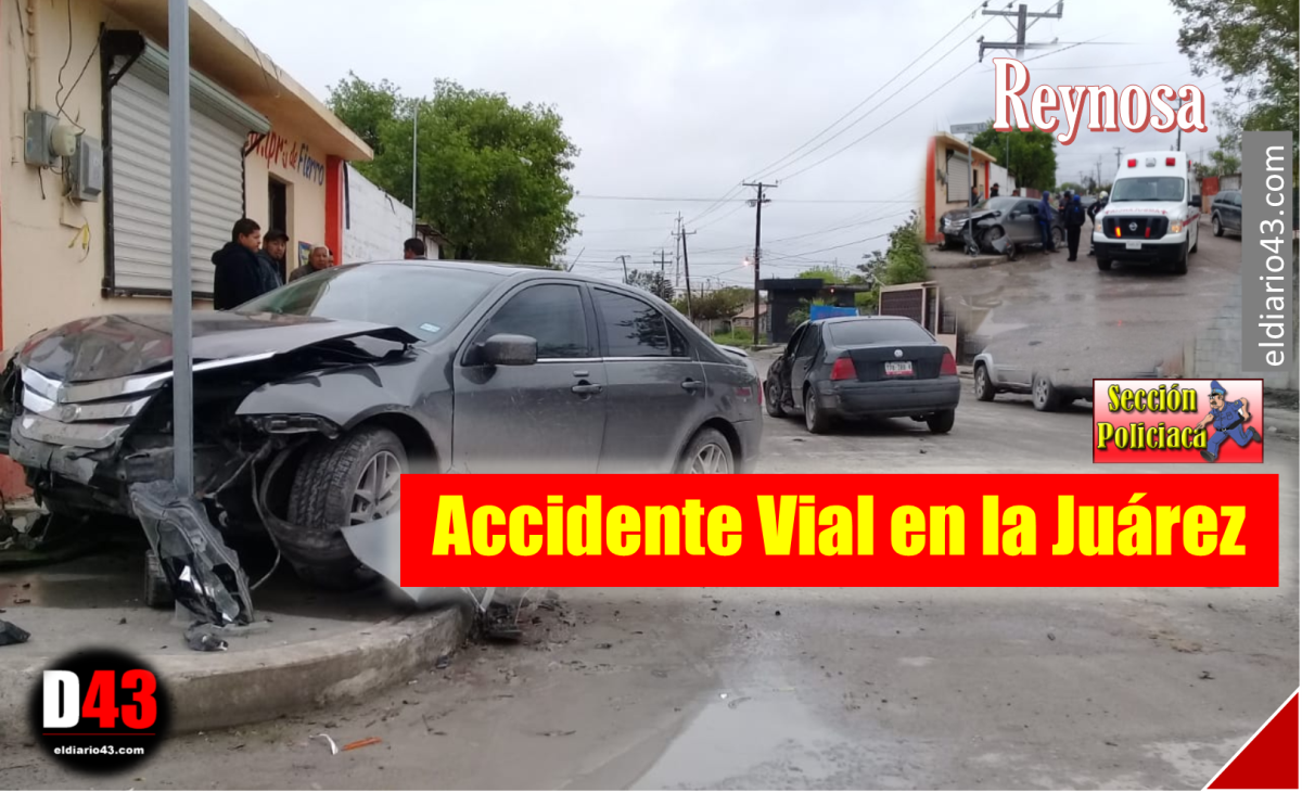 Provoca accidente por no ceder paso
