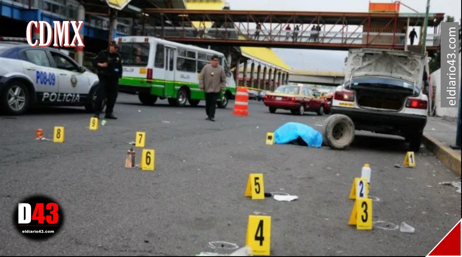Enero, el más violento en los últimos dos años en la Ciudad de México