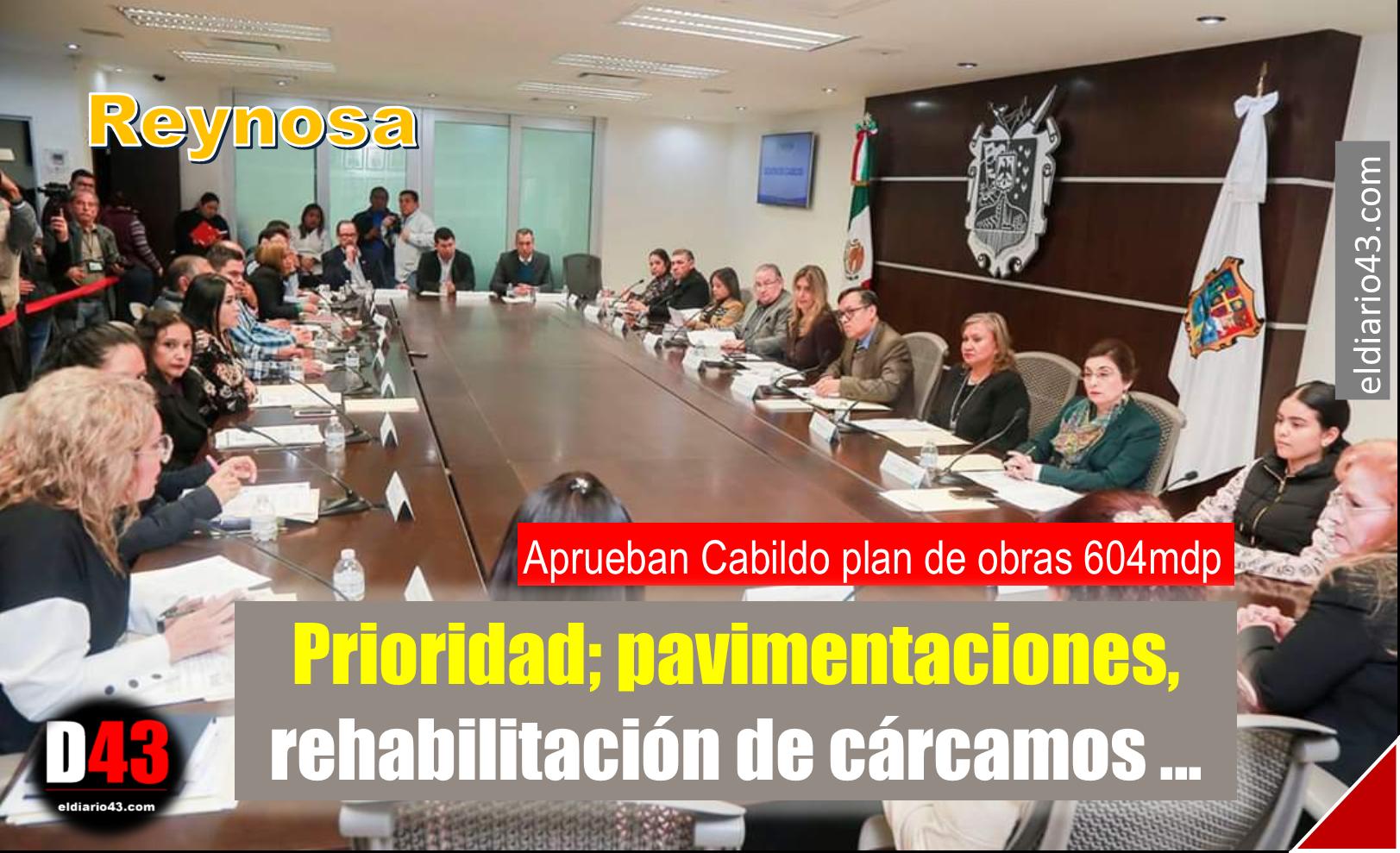 Autorizan plan municipal de obras aplicando una inversión de 604 millones de pesos