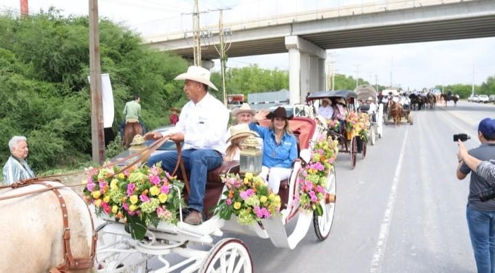 Celebran con cabalgata 270 aniversario de Reynosa